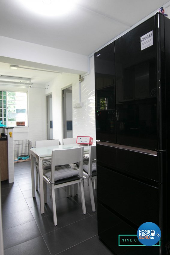 Eclectic Design - Kitchen - HDB 3 Room - Design by 9 Creation Pte Ltd