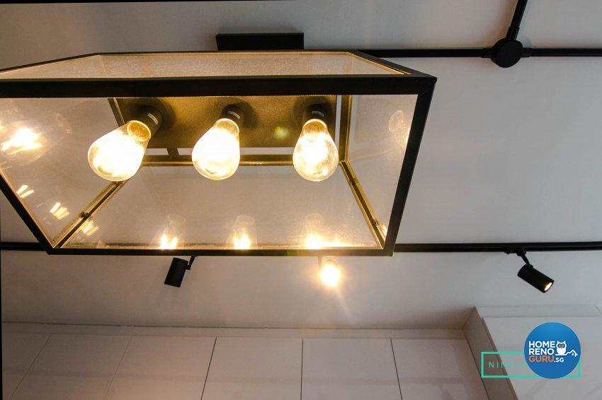 Eclectic Design - Kitchen - HDB 3 Room - Design by 9 Creation Pte Ltd
