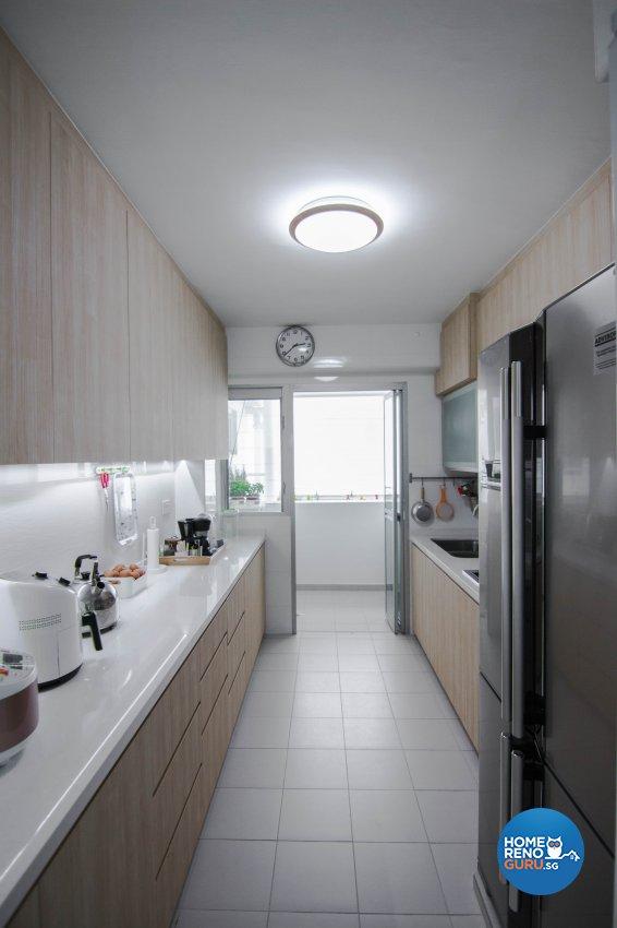 Modern Design - Kitchen - HDB 5 Room - Design by 9 Creation Pte Ltd