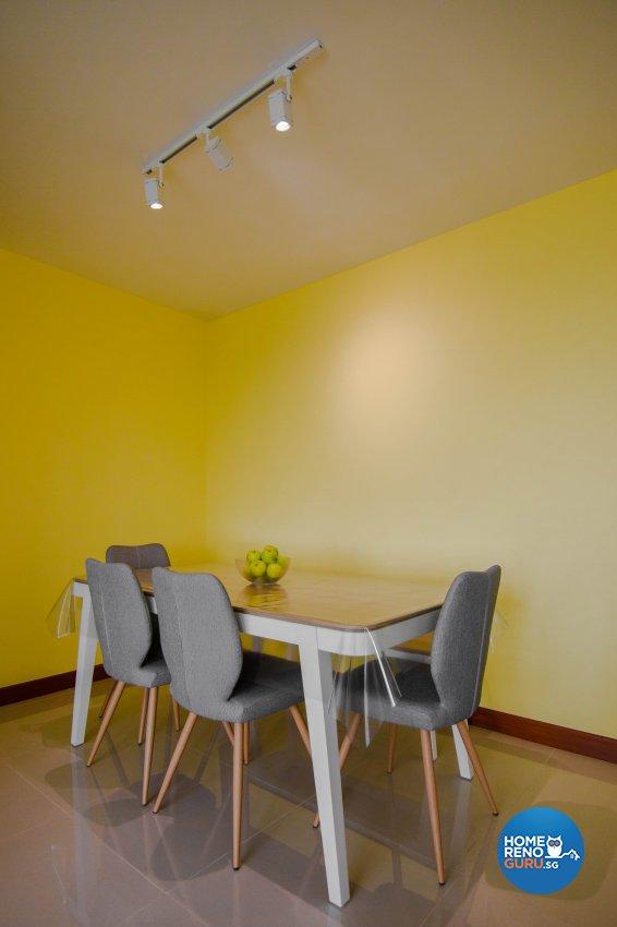Modern Design - Dining Room - HDB 5 Room - Design by 9 Creation Pte Ltd