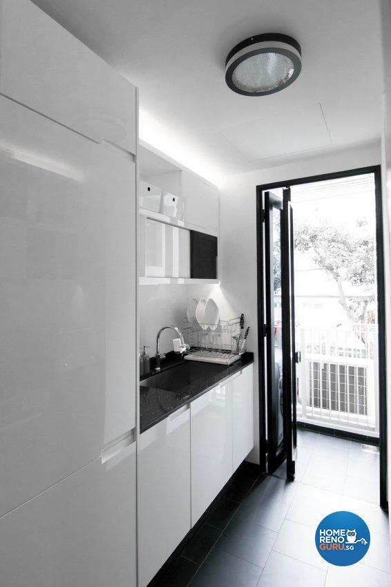 Contemporary, Modern Design - Kitchen - Condominium - Design by 9 Creation Pte Ltd
