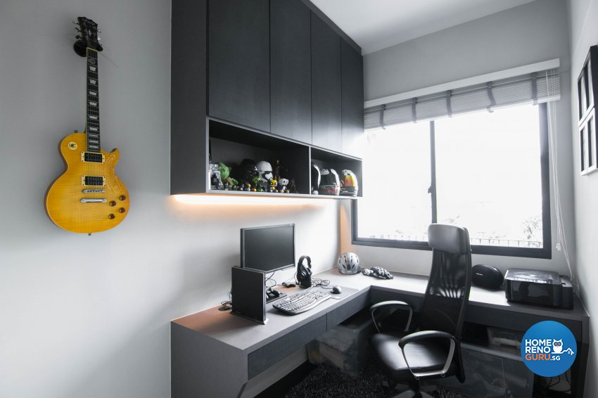 Contemporary, Modern Design - Bedroom - Condominium - Design by 9 Creation Pte Ltd