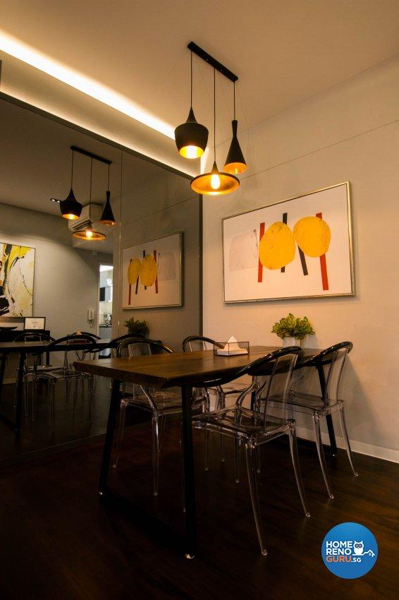 Contemporary, Modern Design - Dining Room - Condominium - Design by 9 Creation Pte Ltd