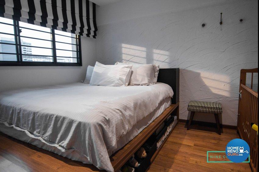 Modern Design - Bedroom - HDB 3 Room - Design by 9 Creation Pte Ltd