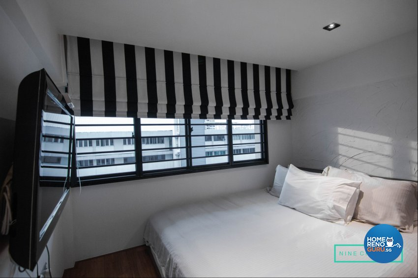 Modern Design - Bedroom - HDB 3 Room - Design by 9 Creation Pte Ltd