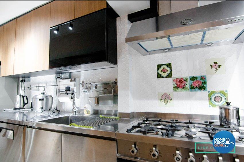 Modern Design - Kitchen - HDB 3 Room - Design by 9 Creation Pte Ltd