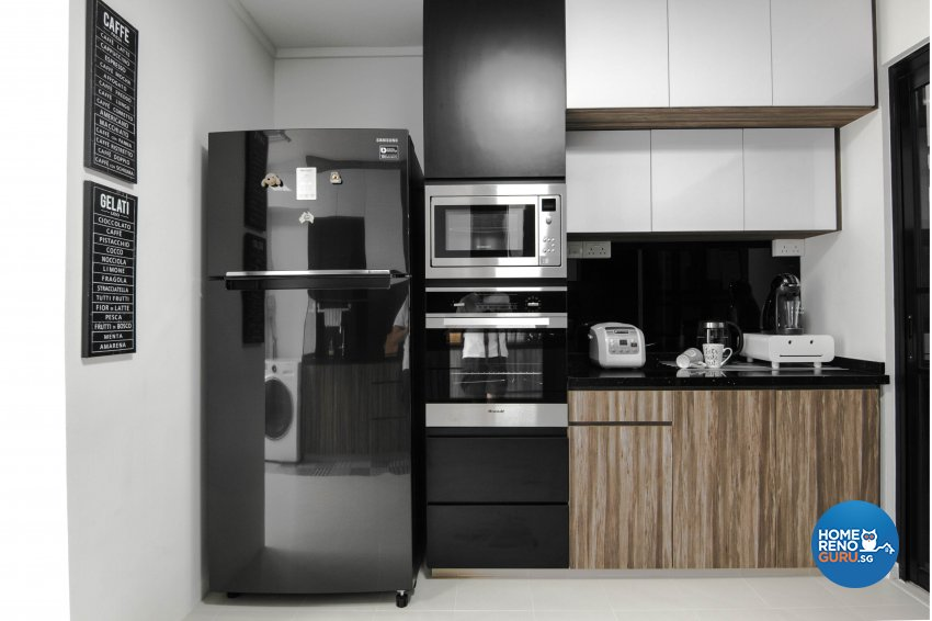 Contemporary, Scandinavian Design - Kitchen - HDB 5 Room - Design by 9 Creation Pte Ltd