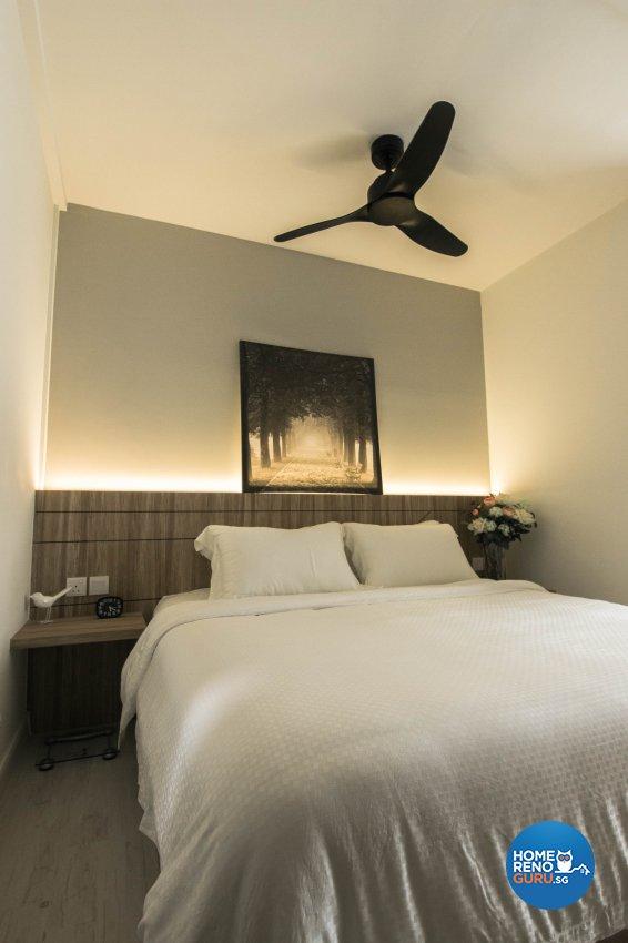 Contemporary, Scandinavian Design - Bedroom - HDB 5 Room - Design by 9 Creation Pte Ltd