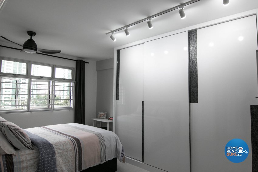 Contemporary, Modern Design - Bedroom - HDB 3 Room - Design by 9 Creation Pte Ltd