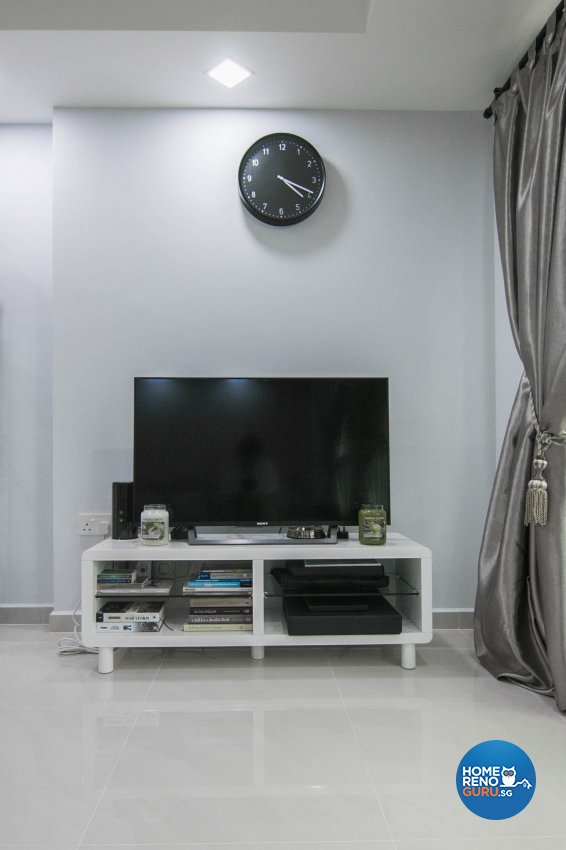 Contemporary, Modern Design - Living Room - HDB 3 Room - Design by 9 Creation Pte Ltd