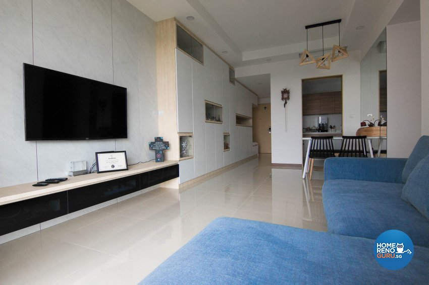 Contemporary, Modern Design - Living Room - Condominium - Design by 9 Creation Pte Ltd