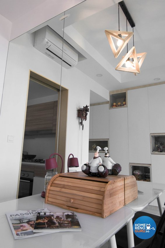 Contemporary, Modern Design - Dining Room - Condominium - Design by 9 Creation Pte Ltd