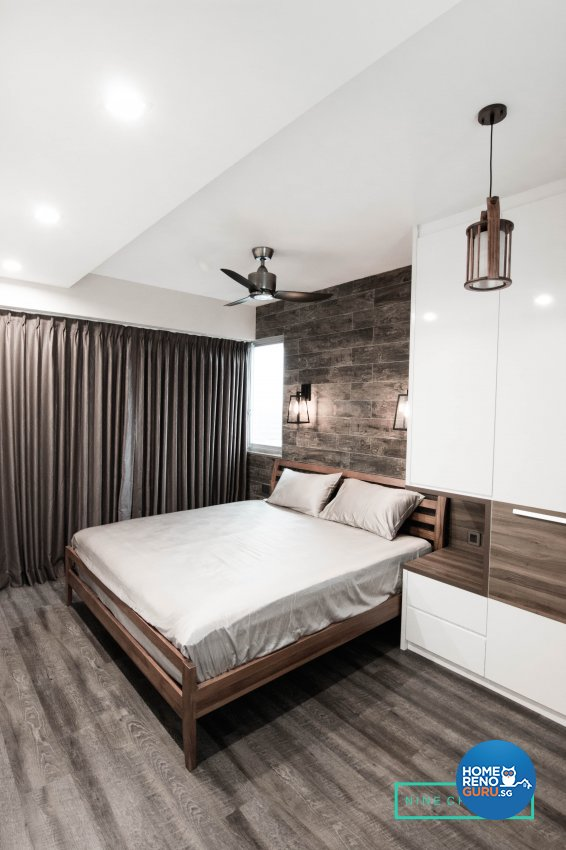 Classical, Contemporary, Scandinavian Design - Bedroom - HDB 4 Room - Design by 9 Creation Pte Ltd