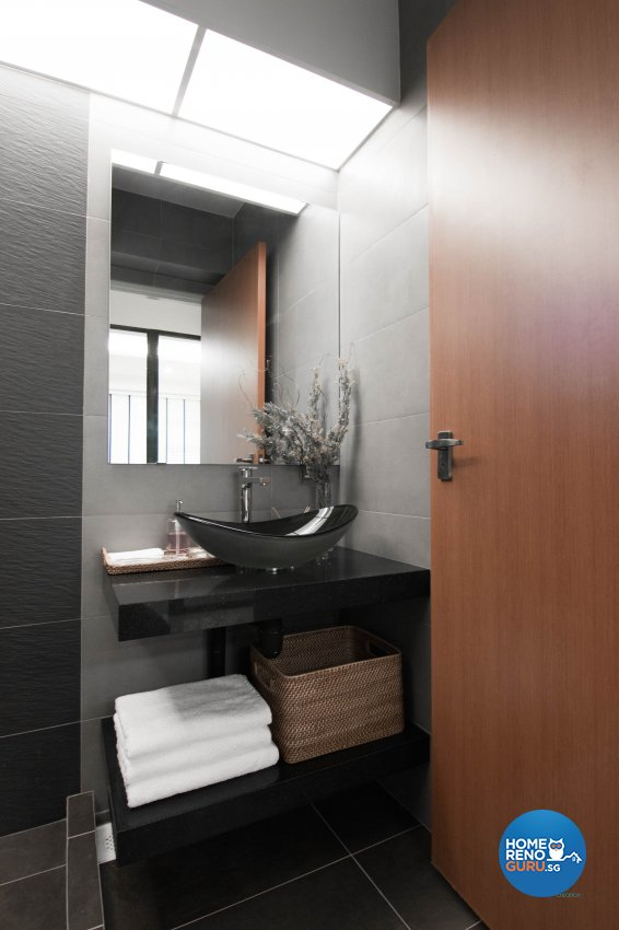 Classical, Contemporary, Scandinavian Design - Bathroom - HDB 4 Room - Design by 9 Creation Pte Ltd
