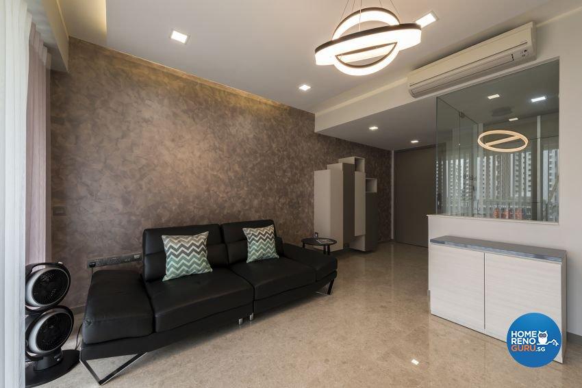 Contemporary, Modern Design - Living Room - Condominium - Design by 9 Creation Pte Ltd