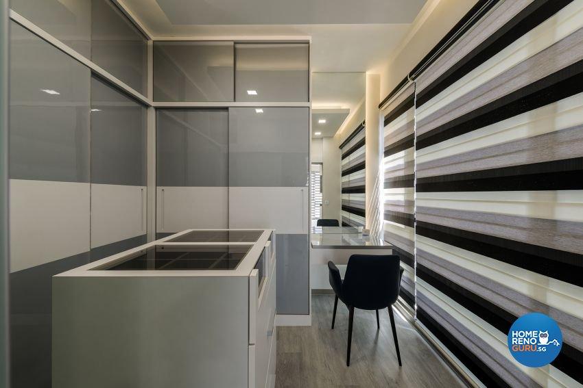 Contemporary, Modern Design - Bedroom - Condominium - Design by 9 Creation Pte Ltd