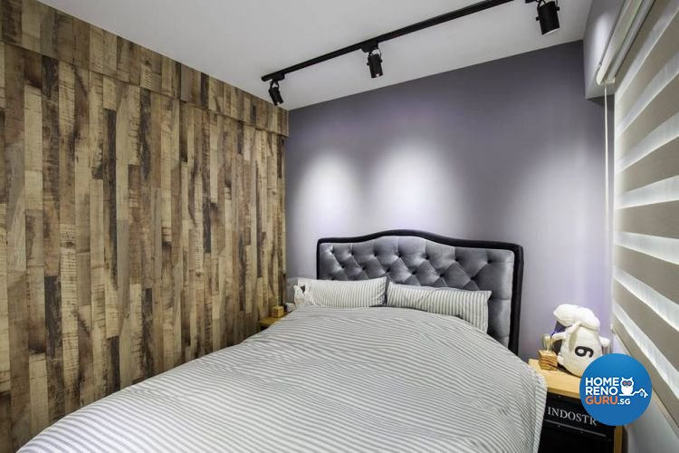 Modern, Retro, Vintage Design - Bedroom - HDB 4 Room - Design by 9 Creation Pte Ltd