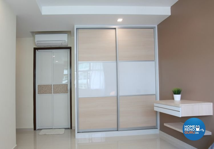 Minimalist, Modern, Scandinavian Design - Bedroom - HDB 4 Room - Design by 9 Degree Construction Pte Ltd