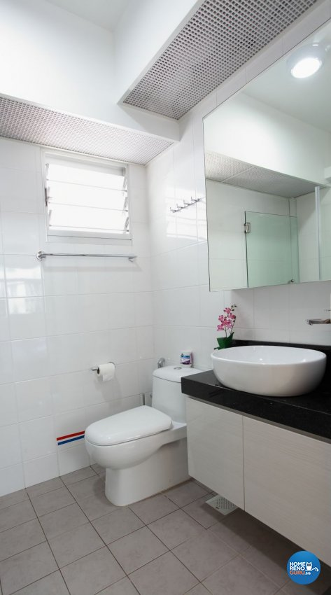 Minimalist, Modern, Scandinavian Design - Bathroom - HDB 4 Room - Design by 9 Degree Construction Pte Ltd