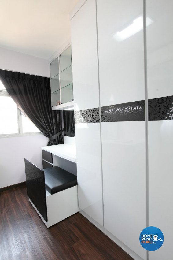 Contemporary, Minimalist, Modern Design - Bedroom - HDB 5 Room - Design by 9 Degree Construction Pte Ltd