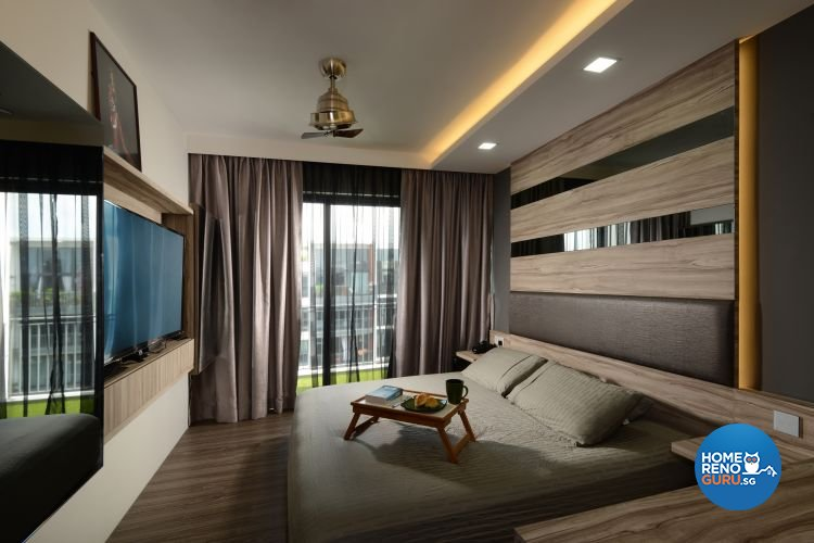 Industrial, Modern Design - Bedroom - Condominium - Design by 9 Degree Construction Pte Ltd