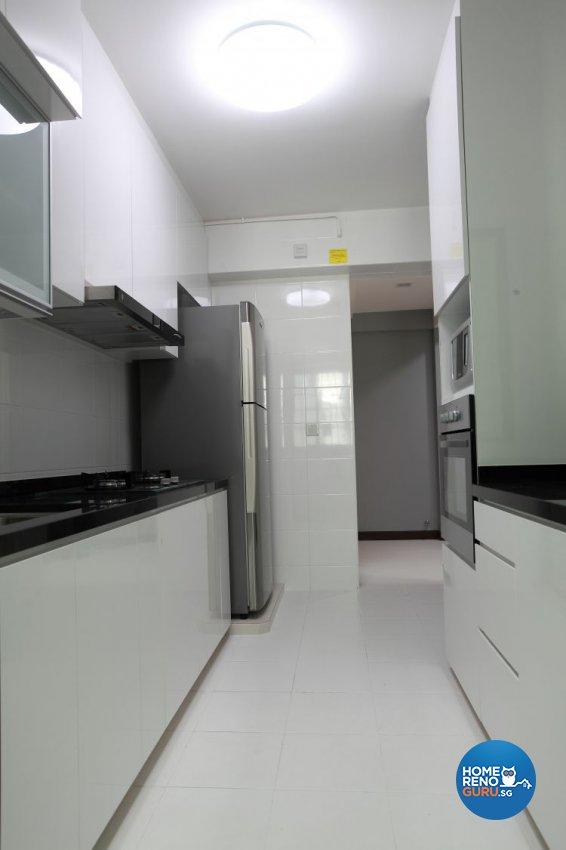 Contemporary, Minimalist, Modern Design - Kitchen - HDB 5 Room - Design by 9 Degree Construction Pte Ltd
