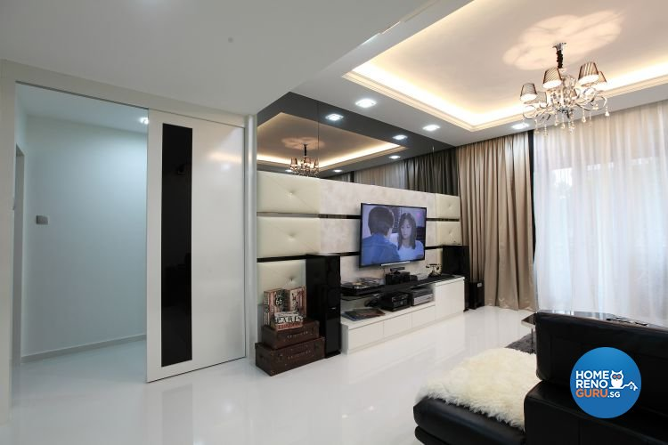 Classical, Contemporary, Modern Design - Living Room - Condominium - Design by 9 Degree Construction Pte Ltd