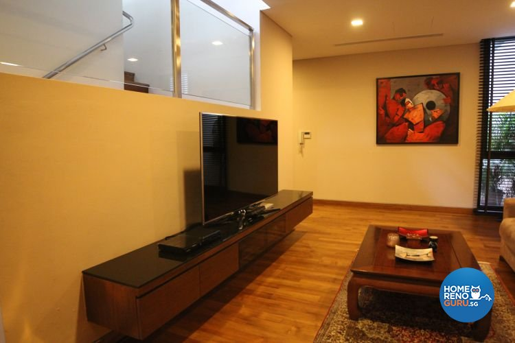 Contemporary, Minimalist, Modern Design - Entertainment Room - Landed House - Design by 9 Degree Design & Renovation Studio