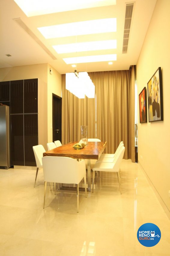 Contemporary, Minimalist, Modern Design - Dining Room - Landed House - Design by 9 Degree Design & Renovation Studio