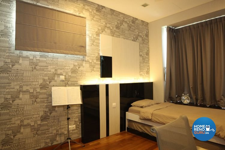 Contemporary, Minimalist, Modern Design - Bedroom - Landed House - Design by 9 Degree Design & Renovation Studio