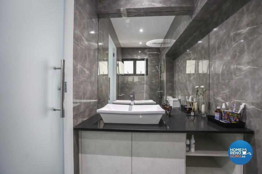 Modern Design - Bathroom - HDB 5 Room - Design by 96 Degree Designers