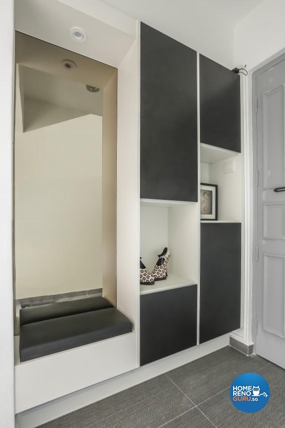 Modern Design - Living Room - HDB 5 Room - Design by 96 Degree Designers