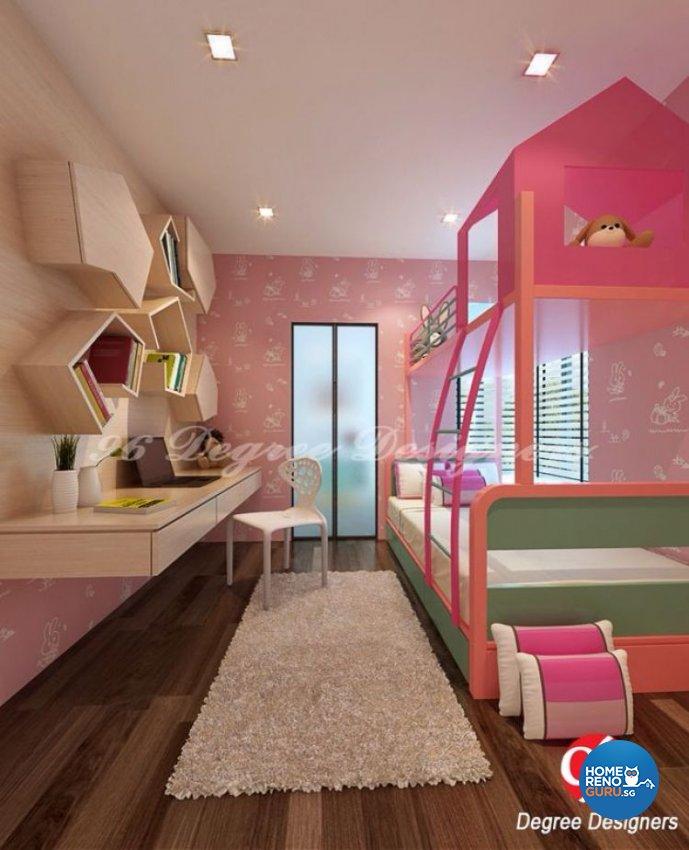 Contemporary, Eclectic, Modern Design - Bedroom - Condominium - Design by 96 Degree Designers