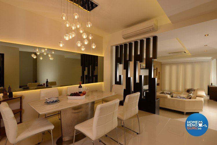 Contemporary, Modern, Resort Design - Dining Room - Landed House - Design by 96 Degree Designers