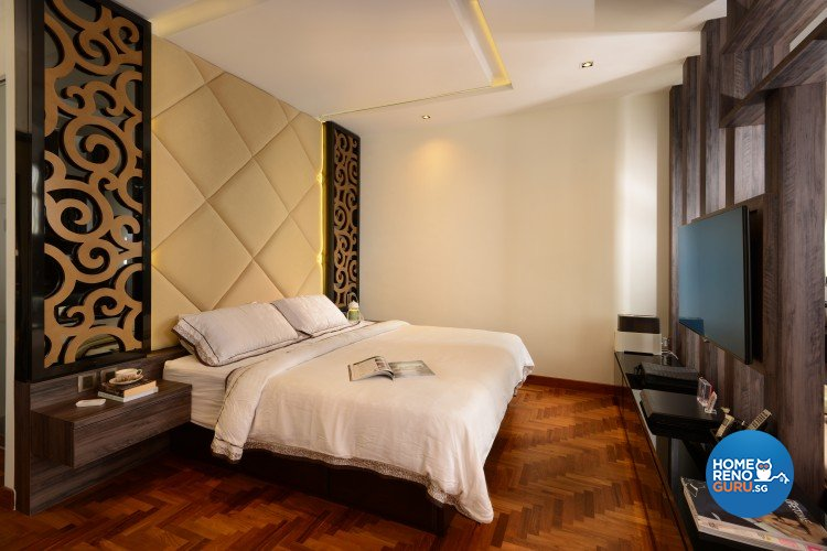 Contemporary, Modern, Resort Design - Bedroom - Landed House - Design by 96 Degree Designers