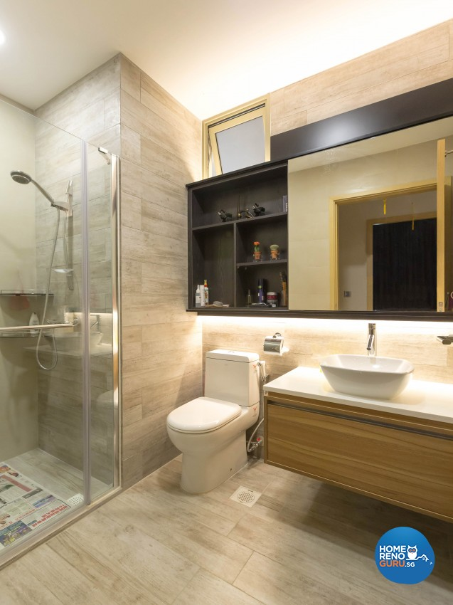Modern Design - Bathroom - Condominium - Design by 96 Degree Designers