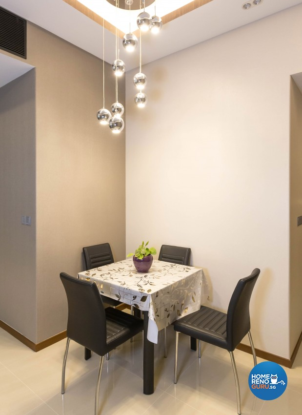 Modern Design - Dining Room - Condominium - Design by 96 Degree Designers