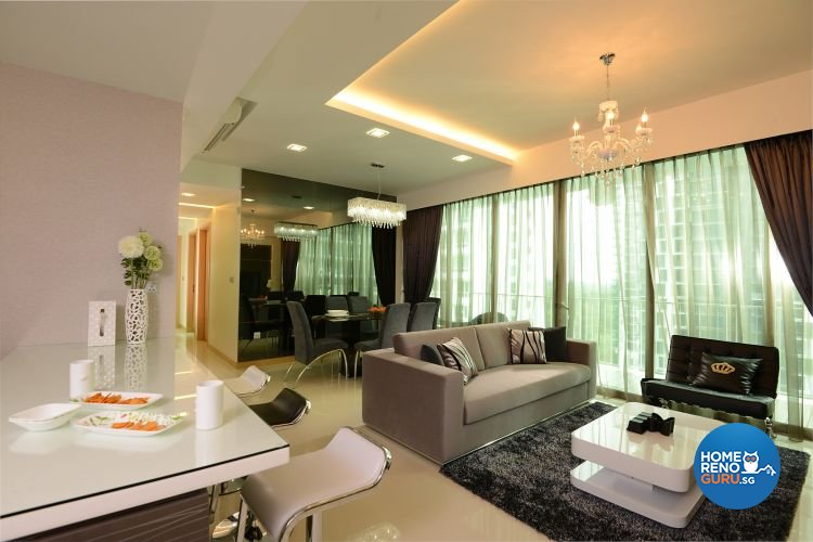 Minimalist, Modern Design - Dining Room - Condominium - Design by 96 Degree Designers