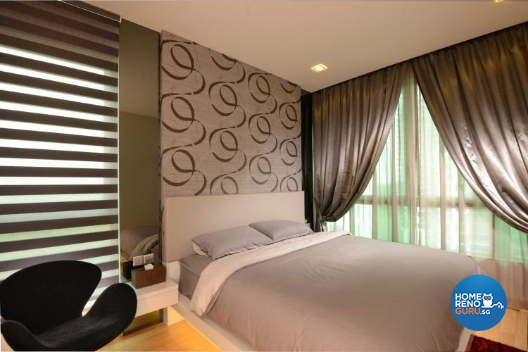 Minimalist, Modern Design - Bedroom - Condominium - Design by 96 Degree Designers