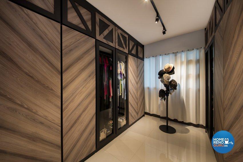 Rustic Design - Bedroom - HDB 4 Room - Design by Aartboxx Interior