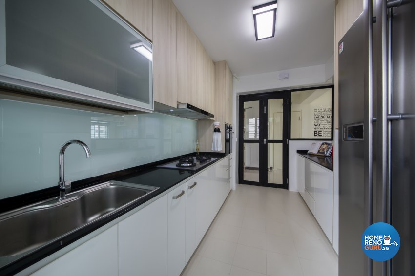 Scandinavian Design - Kitchen - HDB 5 Room - Design by Aartboxx Interior
