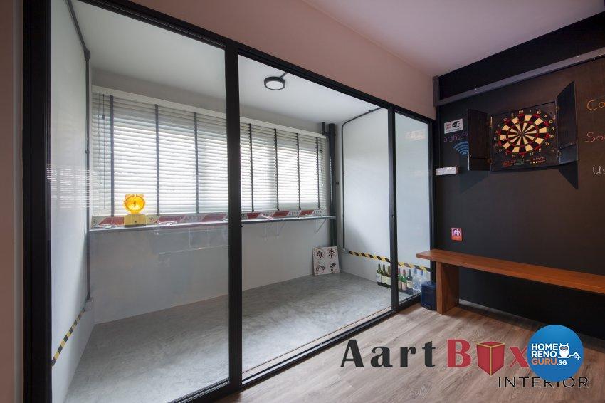 Singapore interior design gallery design details for Hdb balcony design