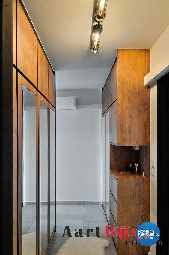 Scandinavian Design - Bedroom - HDB 4 Room - Design by Aartboxx Interior
