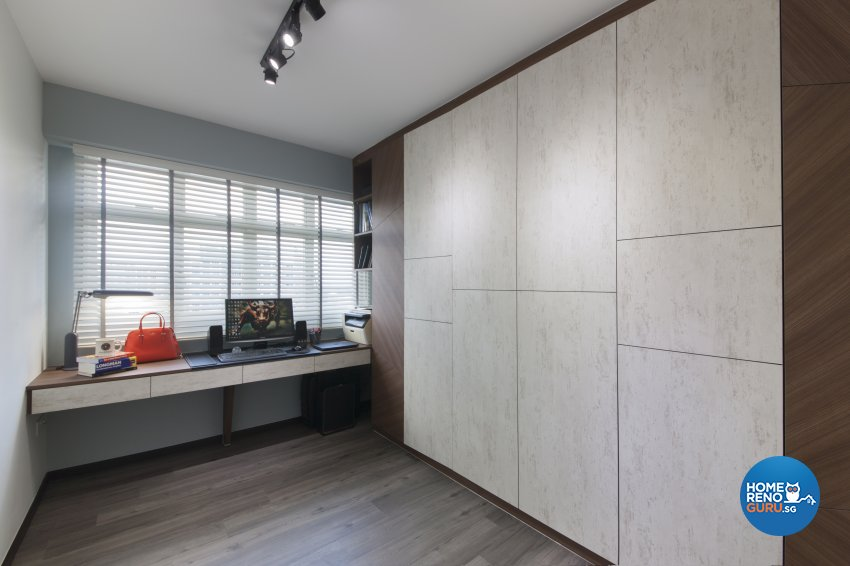 Contemporary, Modern Design - Bedroom - HDB 5 Room - Design by Aartboxx Interior
