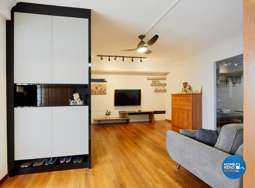 Contemporary, Scandinavian Design - Living Room - HDB Executive Apartment - Design by Absolook Interior Design Pte Ltd