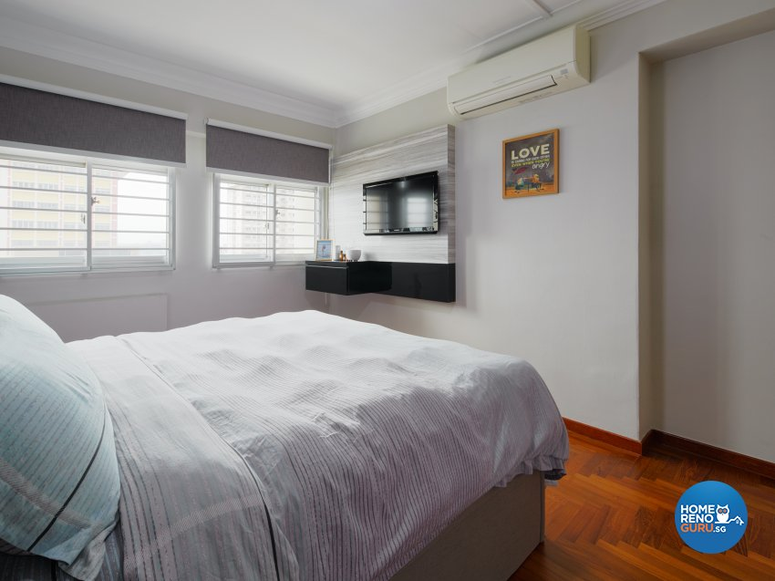 Contemporary, Scandinavian Design - Bedroom - HDB Executive Apartment - Design by Absolook Interior Design Pte Ltd