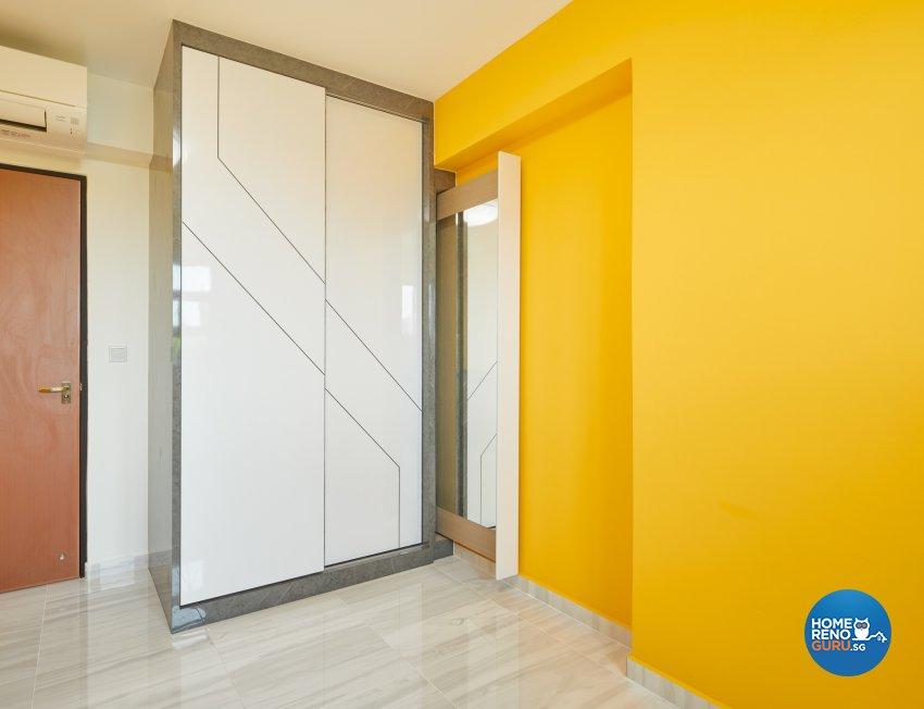 Contemporary, Modern Design - Bedroom - HDB 4 Room - Design by Absolook Interior Design Pte Ltd