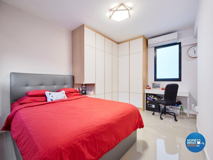Contemporary, Scandinavian Design - Bedroom - HDB 4 Room - Design by Absolook Interior Design Pte Ltd