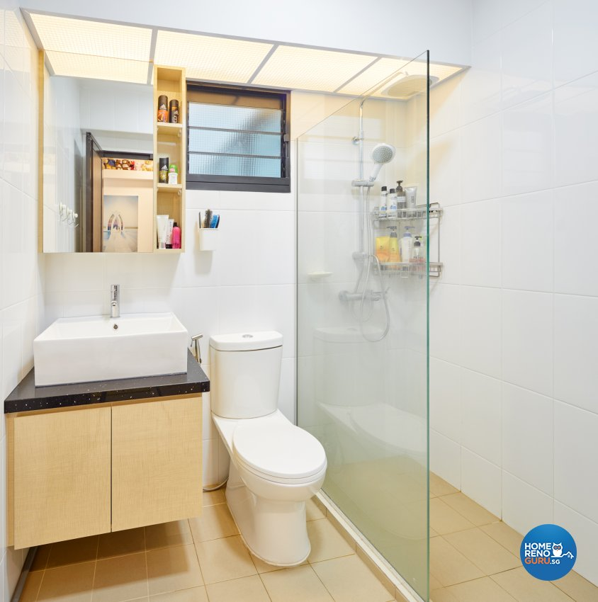 Contemporary, Scandinavian Design - Bathroom - HDB 4 Room - Design by Absolook Interior Design Pte Ltd
