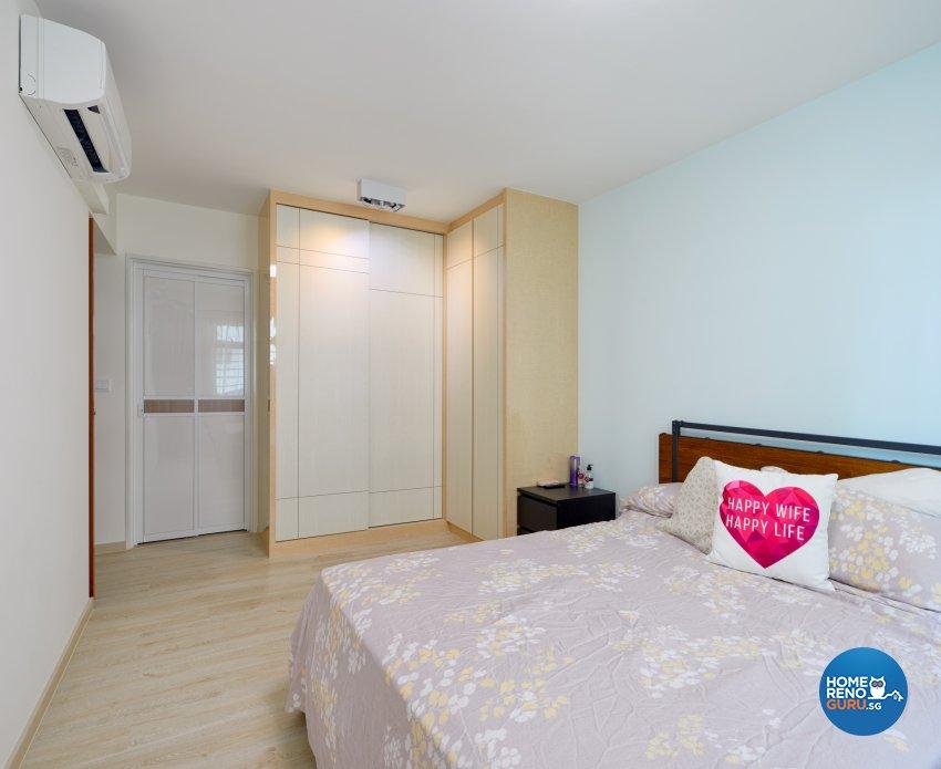 Scandinavian Design - Bedroom - HDB 5 Room - Design by Absolook Interior Design Pte Ltd